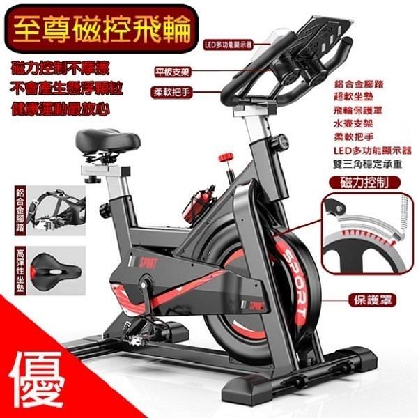 【南紡購物中心】【SILINK】磁控飛輪 健身車 全包款