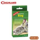 【COGHLANS 加拿大 Emergency Bag 緊急救生袋】9815/緊急用毯/雙銀鋁箔毯/救生毯/急救毯/保溫毯