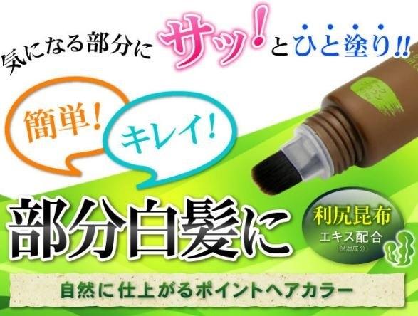 日本【FRAME COSMOS】利尻昆布天然染髮筆50g