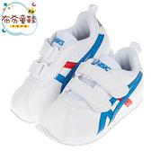 《布布童鞋》asics亞瑟士經典款CORSAIR白色兒童機能運動鞋(16~22公分) [ J0D152M ]