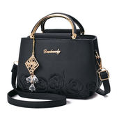 (現貨)Danbaoly新款刺繡掛飾側背包 斜背包 手提包 Dan18 /寶來小舖