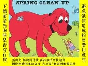 二手書博民逛書店Clifford s罕見Spring Clean-up (clifford The Big Red Dog)Y