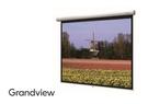 《新竹.竹北投影機布幕專賣》加拿大 GRANDVIEW CN-P120 120 吋 16:9 安全緩升手拉布幕