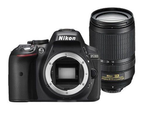 [ 全店紅 ] NIKON D5300 +18-105mm鏡組 (平輸) 送16G全配