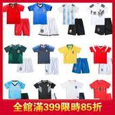 雙十二年終盛宴兒童足球服套裝男女童寶寶小學生世界杯球衣短袖比賽訓練服夏   初見居家