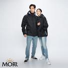 【MORR】Metropolis機能防水外套2.0 【個性黑】防水/透濕/透氣/戶外活動