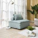 【網購特惠】列克方塊椅凳-大地綠