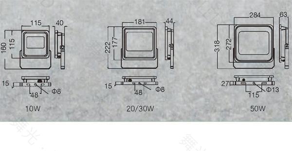 【燈王的店】舞光 LED 10W 宙斯泛光燈 戶外投射燈投光燈 全電壓 白光6500K/暖白光3000K OD-FLZ10