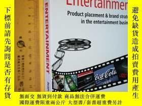 二手書博民逛書店英文原版罕見大開本Branded Entertainment: Product Placement & Brand