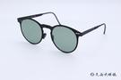 ROAV 偏光太陽眼鏡 Riviera - Mod.8103 ( 霧黑框/墨綠片 ) 薄鋼折疊墨鏡