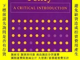 二手書博民逛書店Social罕見Policy - A Critical IntroductionY307751 Fiona W