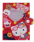【卡漫城】 Hello Kitty 防水 護照套 愛心眼鏡 ㊣版 香港版 證件套 卡片套 收納本 凱蒂貓 保護套