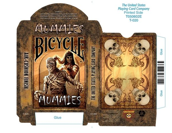 【USPCC 撲克】Bicycle Mummies Playing Cards木乃伊