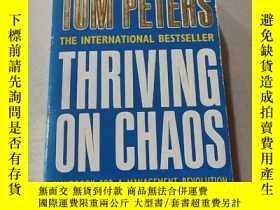 二手書博民逛書店THRIVING罕見ON CHAOS:在混亂的蓬勃發展Y212829