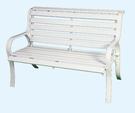 【南洋風休閒傢俱】公園桌椅系列 - 4尺鋁條公園椅 鋁合金公園椅 騎樓等待椅 戶外公園椅(A110102)