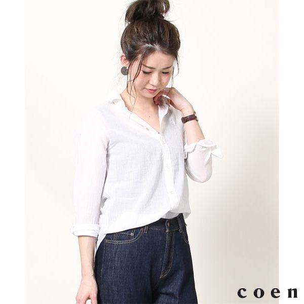 『Liniere』 高捻棉標準領襯衫