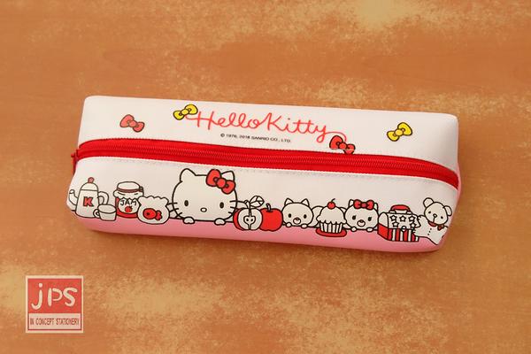Hello Kitty 凱蒂貓 中分長筆袋