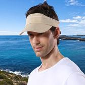夏季戶外男防曬帽 可收納多功能透氣兩用空頂帽鴨舌帽太陽帽 快速出貨 全館八折