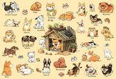 【拼圖總動員 PUZZLE STORY】狗狗的100種生活 PuzzleStory/afu/繪畫/300P