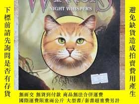 二手書博民逛書店Warriors:罕見Omen of the Stars #3: Night WhispersY254800