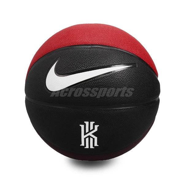 Nike 籃球 Kyrie Crossover 黑 紅 黃 標準7號球 室內外 【ACS】 N100069097-807