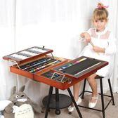 兒童畫筆文具套裝男孩女孩繪畫學習用品文具獎品禮物禮盒木質生日igo      琉璃美衣