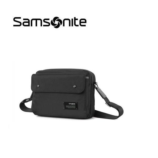 【南紡購物中心】Samsonite TO8 中性多隔層收納斜肩包 肩背包 休閒側背包