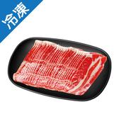 美國優質牛五花燒烤片400G/盒【愛買冷凍】