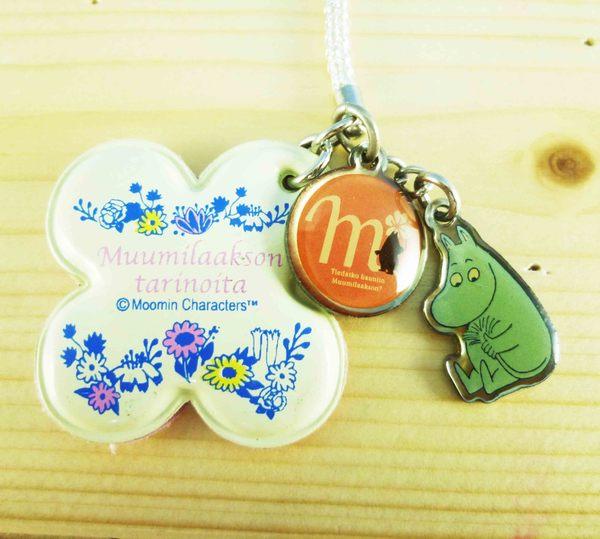 【震撼精品百貨】慕敏嚕嚕米家族_Moomin Valley~手機吊飾-白花