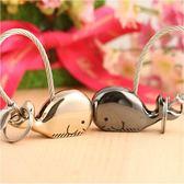 情侶鑰匙扣 汽車鑰匙鏈 正韓卡通 可愛 小熊鯨魚鑰匙扣 創意禮品 生日禮物
