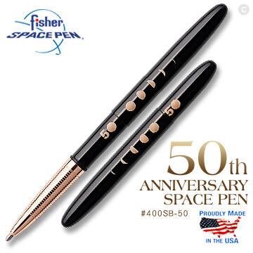 Fisher 50週年紀念款太空筆 ( #400SB-50 )【AH02181】母親節 大創意生活百貨