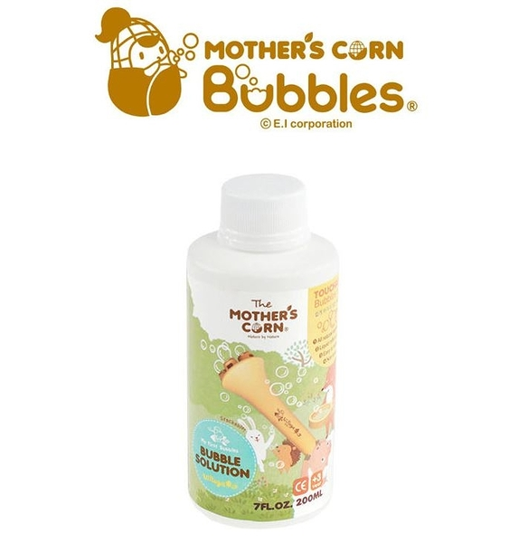 韓國 【Mother's Corn】兒童專用不易破泡泡補充罐 (200ml)