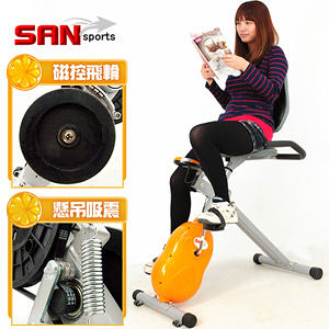 【SAN SPORTS】國王寶座飛輪式MAX磁控健身車.室內腳踏車.運動健身器材推薦哪裡買