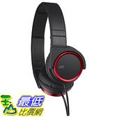 [東京直購] JVC 頭戴式立體聲耳機 HA-S400-R 紅色 可摺疊