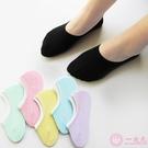 襪子女船襪女士短襪春夏季純棉薄款淺口隱形低幫硅膠防滑黑色白色