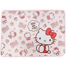 小禮堂 Hello Kitty 方形腳踏...