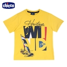 chicco-快樂夏天-風浪板短袖上衣