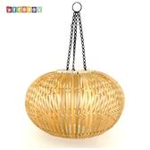 DecoBox中國風原色竹燈罩(40公分-1個)-不含燈泡線材(插花,花器)