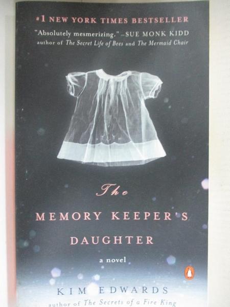【書寶二手書T1/原文小說_H4D】The Memory Keeper`s Daughter_KIM