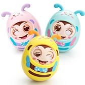 不倒翁玩具嬰兒3-6-9-12個月寶寶益智兒童小孩0-1歲大號不到翁8-7    color shop