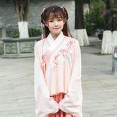 古裝貴妃仙女襦裙曲裾漢元素廣袖女古時裝裙 LQ4748『夢幻家居』