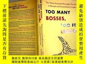 二手書博民逛書店Too罕見Many Bosses, Too Few Leader