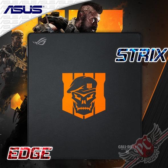 [ PC PARTY ] 華碩 ASUS COD ROG Strix Edge 直版滑鼠墊(L)