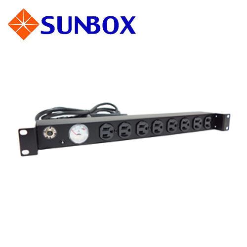 慧光展業 指針型 電錶 電源排插 SPMA-2012-08 SUNBOX