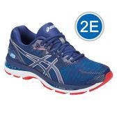 樂買網 ASICS 18FW 高階 緩衝型 男慢跑鞋 NIMBUS 20系列 2E寬楦 T801N-400 贈腿套