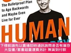 二手書博民逛書店Super罕見Human : The Bulletproof Plan to Age Backward and M