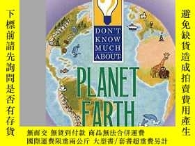 二手書博民逛書店Don t罕見Know Much About Planet EarthY255562 Davis, Kenne