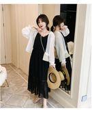 中大尺碼XL-5XL洋裝連身裙長裙大碼女裝休閒連身裙4F087-1156