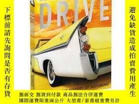 二手書博民逛書店圖解汽車史罕見英文原版 Drive:Definitive His