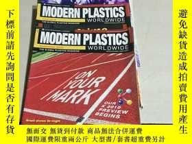 二手書博民逛書店MODERN罕見PLASTICS WORLDWIDE.2010,五本合售(英文)Y200392 MAGAZIN